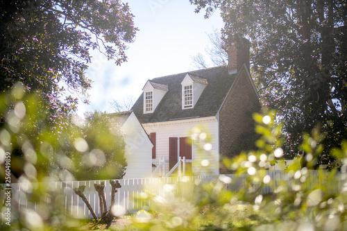 Fotografía  Colonial Williamsburg Historic Building