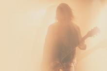 Silhouette Of Musician