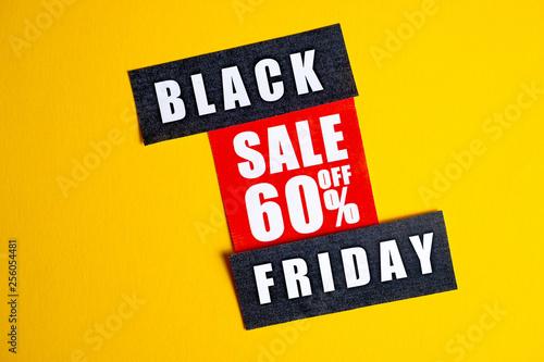 Fotografía  Black Friday sale concept