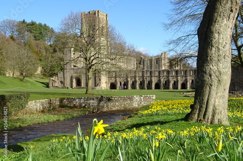 Fountains Abbey, Ripon, North Yorkshire Wallpaper Mural