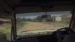 Driving Through Ugandan Village