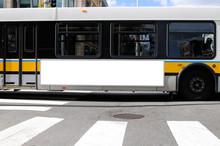 Bus Advertising Mockup, Side P...