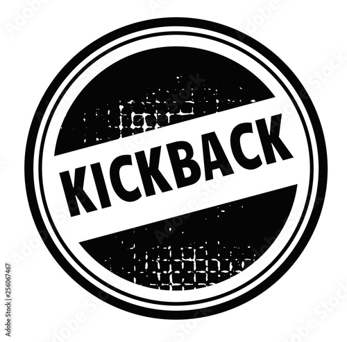 Cuadros en Lienzo kickback advertising sticker