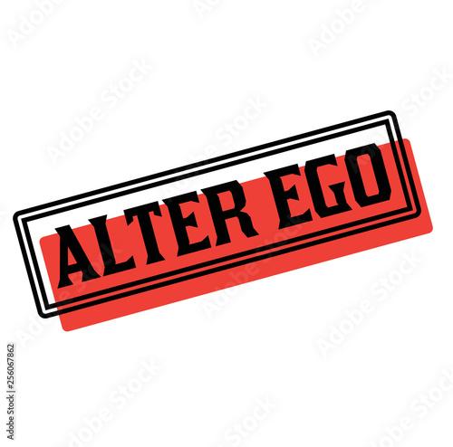 alter ego advertising sticker фототапет