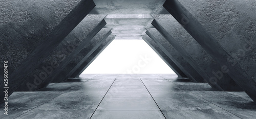 trojkat-grunge-beton-sci-fi-elegancki-nowoczesny-futurystyczny-statek-kosmiczny-podziemny-tunel-hall-galeria-pokoj-pusty-przestrzen-kafelkowy-podloga-odbicia-abstrakcyjne-tlo-obcy-3d-rendering