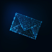 Glowing Low Polygonal Envelope...