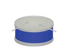 Blue Drum. Vector Illustration