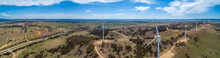 Wide Aerial Panorama Of Hume H...