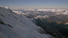 View From Aiguille Du Midi To ...