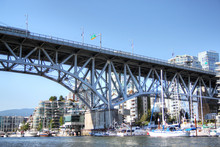 Boats Pass Under Burrard Bridg...