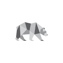 Illustration Of Origami Bear I...