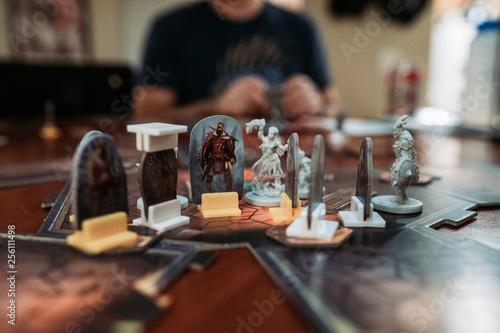 Fotografie, Tablou  Board game table top