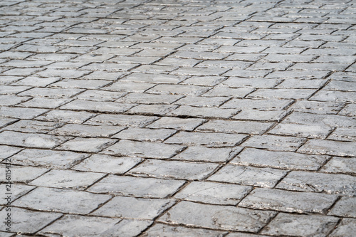 Obraz stone floor texture - fototapety do salonu