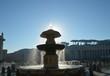 Watykan plac św. Piotra fontanna Bernini