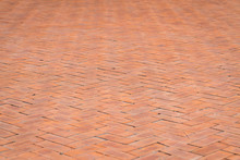 Pattern Of Brick Footpath