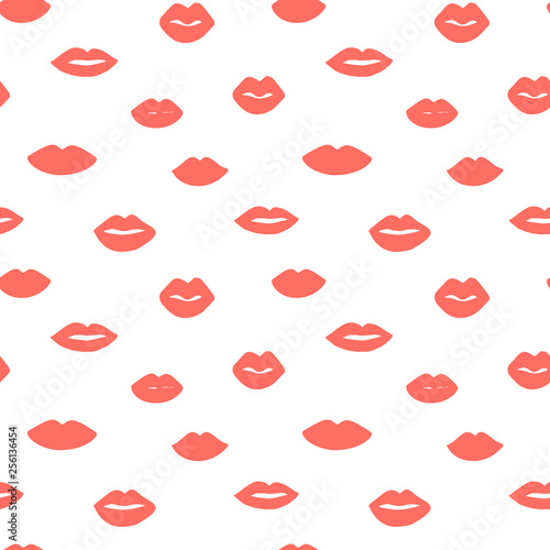 Beauty, makeup, cosmetic fashion seamless pattern  Vector
