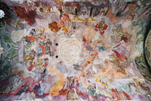 Fresco On The Ceiling Of The O...