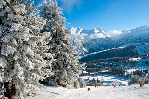 Photo Courchevel 1850 3 Valleys ski area French Alps France