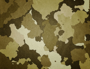 Dirty camouflage fabric tex...