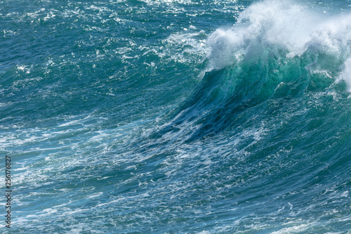 Autocollant pour porte Eau Big waves Portugal l 2