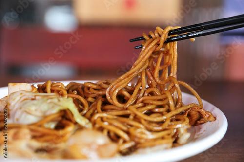 Photo  Yakisoba , Fried noodle japanese style
