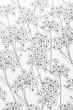 Arrière plan au motif floral