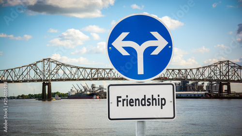 Valokuva  Sign 360 - Friendship