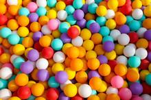 Multi-colored Balls In A Child...