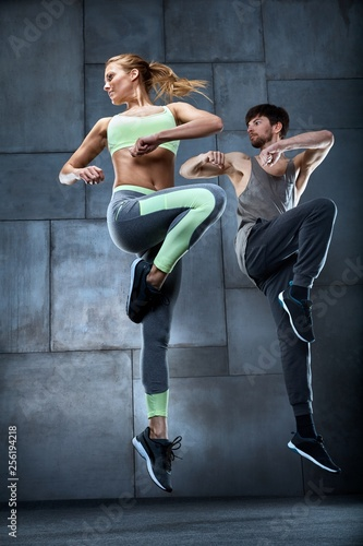 Trening tancerzy