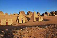 Meroe, Pyramids, Sudan, Nubia