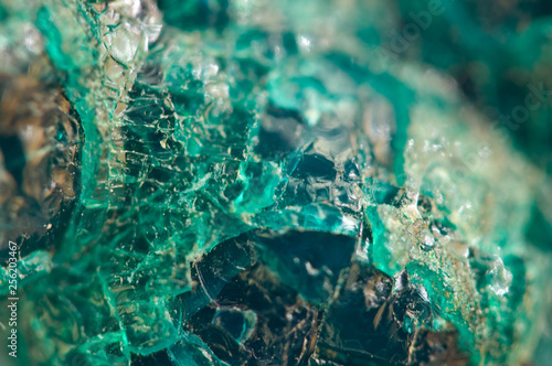 Turquoise natural texture from natural material. Crystals. Macro. Abstract background