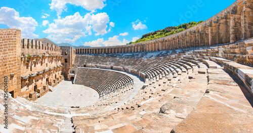 Photo  Aspendos amphitheater - Antalya Turkey