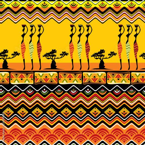 Cuadros en Lienzo African pattern seamless