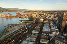 Aerial View Of Vancouver's P...