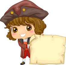 Kid Boy Christopher Columbus P...