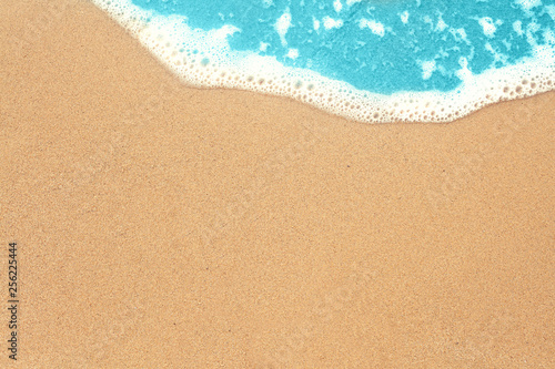 Fotografia, Obraz Sea sand and surf texture background