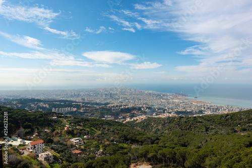 Fotografija Panorama of Beirut, Lebanon