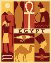 Vector Egypt Background