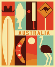 Vector Australia Background