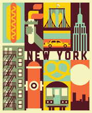 Vector New York Background