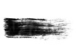 Black ink background painted by brush