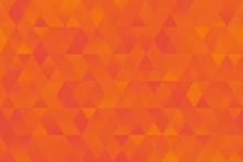 Orange Yellow Triangle Pattern...