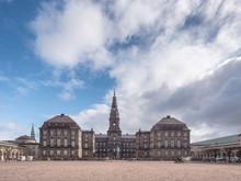 Christiansborg Cast, Danish Parliament In Copenhagen, Denmark