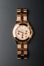 Women Wrist Watch With Cracked...
