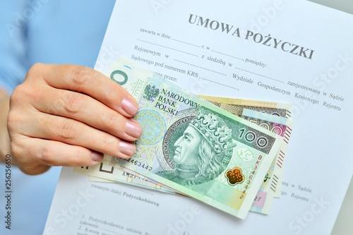 Fototapeta Pożyczka. obraz