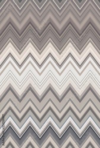 Fotografie, Obraz  brown coffee bronze chevron zigzag. texture geometric.
