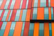 Leinwanddruck Bild - A Business center abstract architecture glass background.