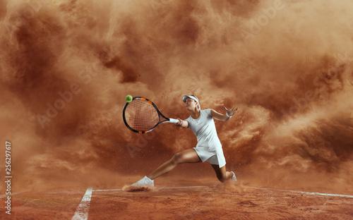 Tennis. Wallpaper Mural