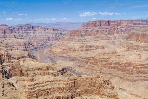 Fotografering  Vista das formações rochosas do Grand Canyon Las Vegas