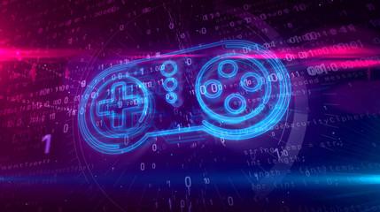 Gamepad controller hologram...